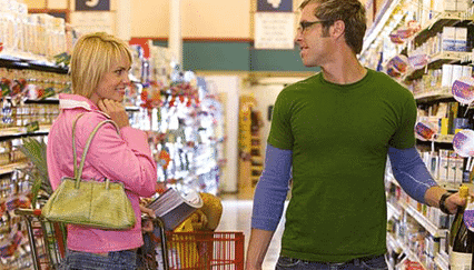 #1 Place To Meet Women: The Grocery Store